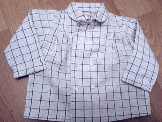 camisas GOCCO 3 a 6 meses