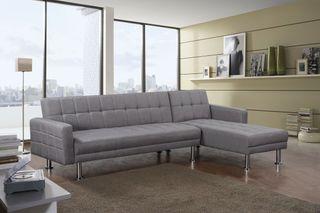 Sofá-cama chaise-longue 265x150CM