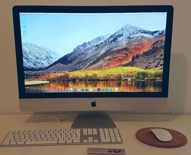 iMAC 27 - 08800, Vilanova i la Geltrú - Se trata de un iMAC de 27 pulgadas, de finales de 2009 y recien actualizado con macOS High Sierra 10.13.4. Lo vendo con el ratón Magic Mouse, el teclado Magic Keyboard con teclado numérico y el mando a distancia Apple Remo - 08800, Vilanova i la Geltrú