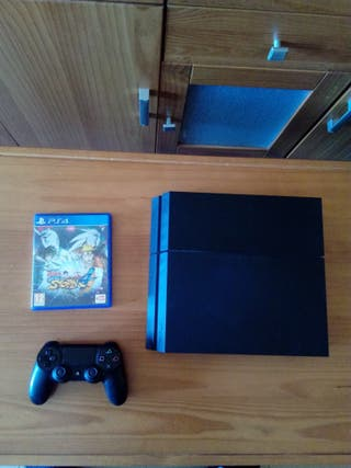 PS4 1tb Ultimate Player Ed. + Naruto Storm 4