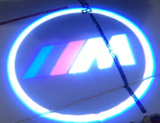 Luz proyector logo BMW ///M