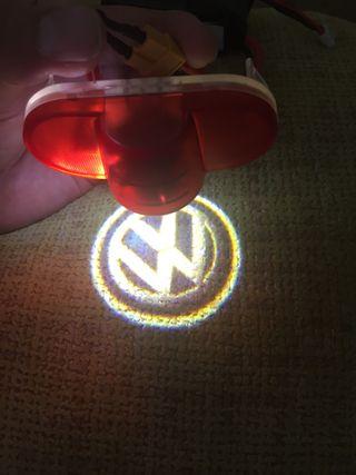 Luz proyector logo VW