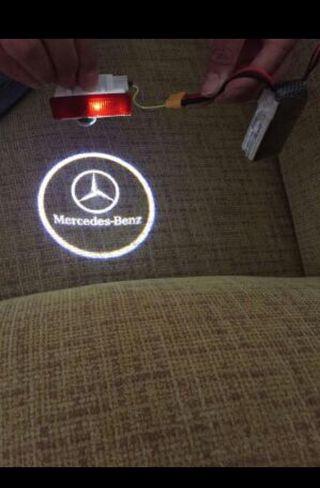 Luz proyector logo MERCEDES