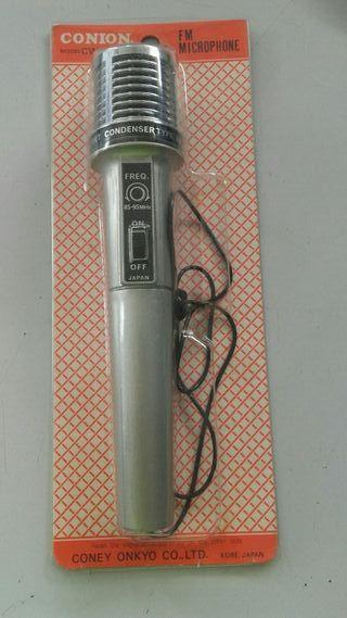 microfono FM antigüo