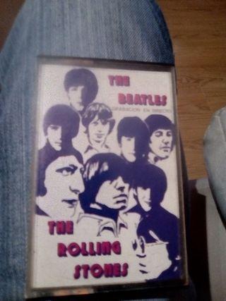 cinta de musica The Beatles The Rolling Stones