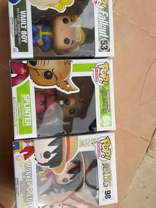 Muñecos POP Lote