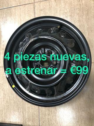 LLANTAS 16 PULGADAS A ESTRENAR