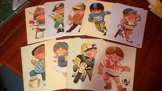 Cuadernos SAM años 70, nuevos