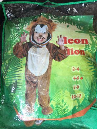 Disfraz león buen estado