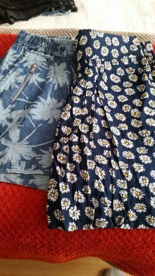 Falfa y un pantalon del corte ingles