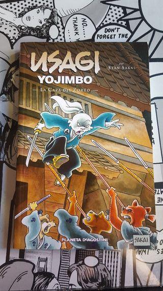 Usagi yojimbo La caza del Zorro
