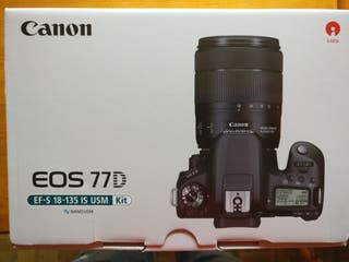 NUEVA Cámara Canon EOS 77D + Objetivo