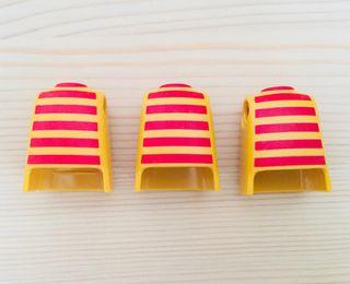 Cuerpos rayas Playmobil