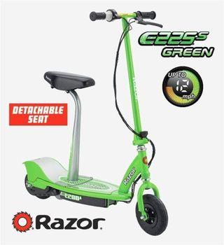 Razor E225S Scooter eléctrico - Verde.