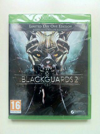 Blackguards 2 Limited Day 1 Precintado