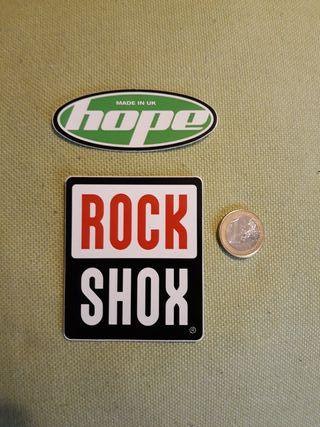 Pegatina Rock Shox y Hope