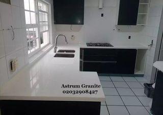 Buy Best Aqua Quartz Kitchen Worktop in London UK