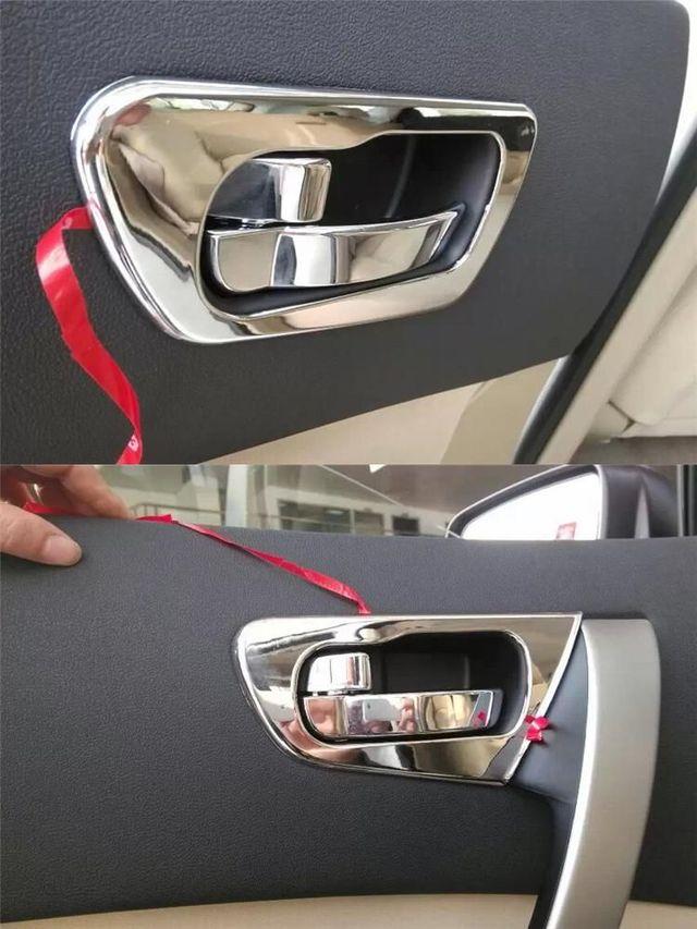 Marcos cromados interiores Nissan Qashqai de segunda mano por 15 ...