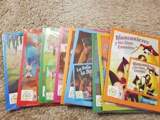 Lote cuentos infantiles con DVD