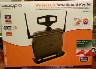 Zaapa ZW- BR11NT Wireless-N Broadband Router