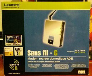 ADSL Módem Router Linksys WAG200G