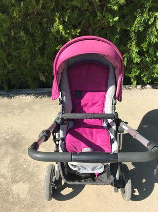 Carro bebe niño completo