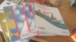 libros del cole 3 ESO