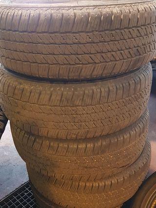 ruedas Bridgestone Dueler H/T 265/60R18 de TOYOTA
