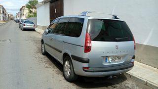 Peugeot 807 2004 diesel 135 cv camvio x furgoneta