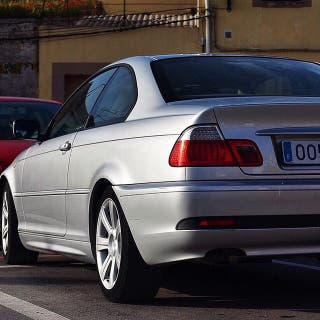 Bmw bmw e46 320cd coupe 2005