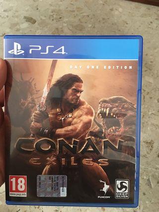 Conan exiles ps4 como nuevo