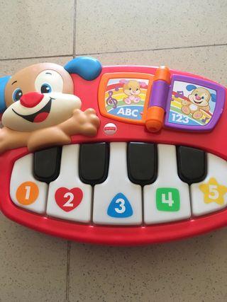 Juguete piano bebe con música