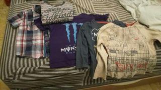 lote camisetas 3 y 4 años