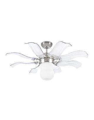 Ventilador de techo con lámpara 3 velocidades