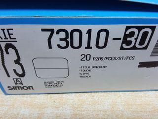 tecla interruptor o pulsador Simón serie 73