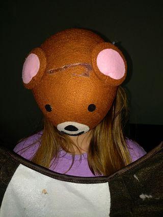 Disfraz oso niña o niño