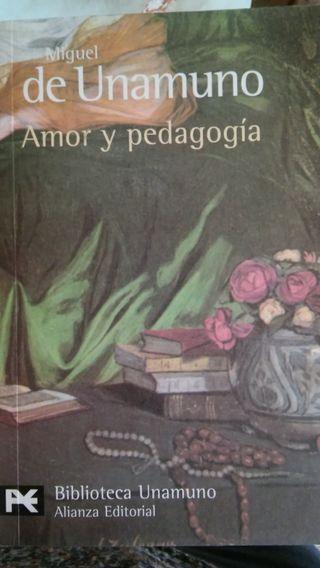 Miguel de Unamuno. Amor y pedagogía