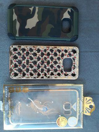 dos fundas Samsung galaxy s6 edge plus y s7