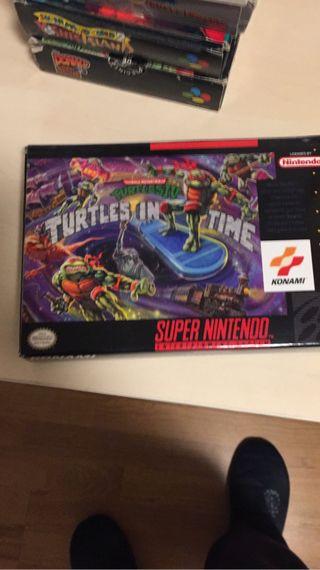 Tortugas ninja in time super n