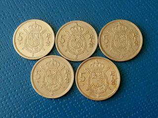 1975 Moneda 5 pesetas