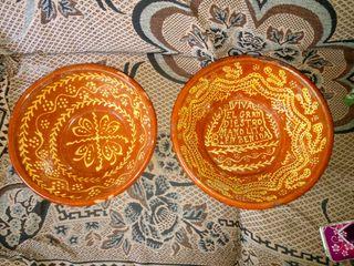 platos de cerámica