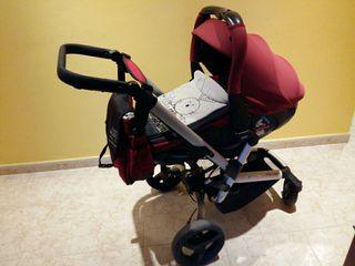Carro bebé y silla de paseo