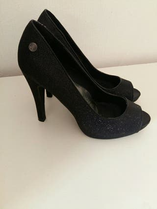 zapatos de tacón de segunda mano en irun en wallapop