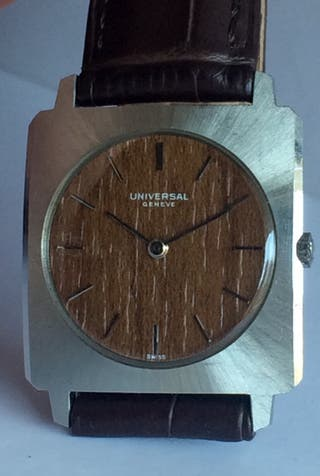 Reloj Universal Geneve Vintage NOS
