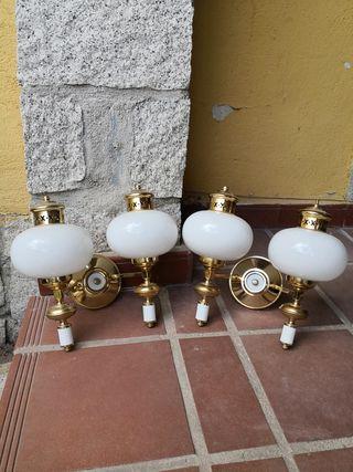 2 lámparas apliques