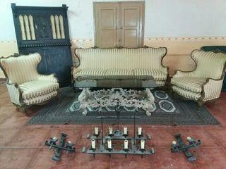 solon antiguo,vitage,sofa tresillo