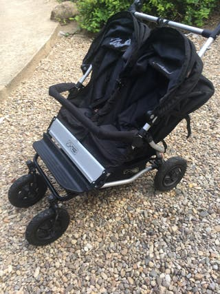 Carrito doble gemelar Mountain Buggy Duet