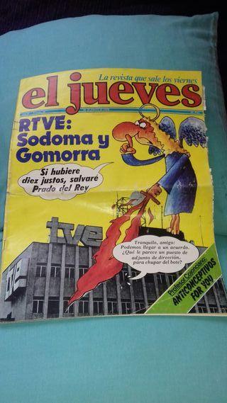 Revista .EL JUEVES. de 1979.