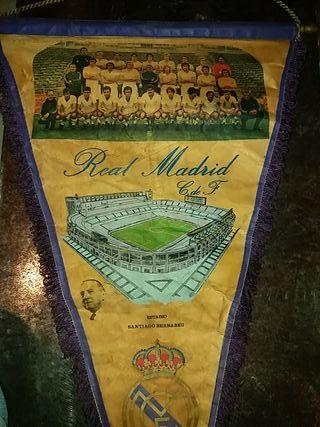 Banderín Real Madrid año 1972