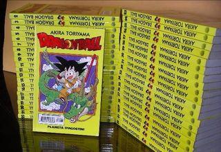 Colección de tomos Dragon Ball